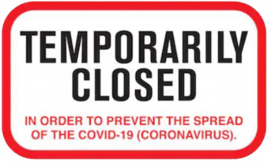COVID-19: Business Shutdown Somerset